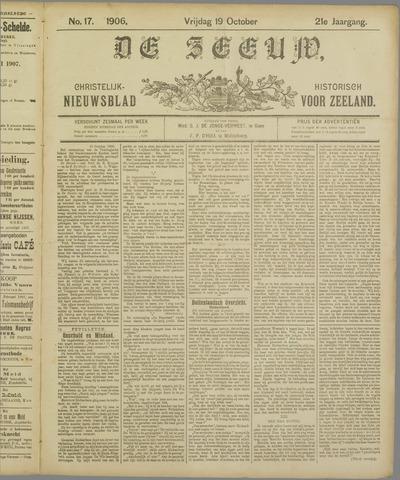 De Zeeuw. Christelijk-historisch nieuwsblad voor Zeeland 1906-10-19