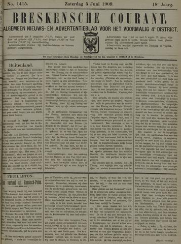 Breskensche Courant 1909-06-05