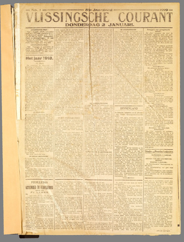Vlissingse Courant 1919