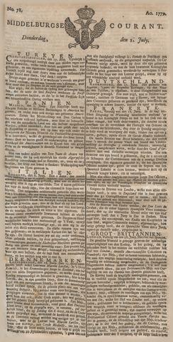 Middelburgsche Courant 1779-07-01
