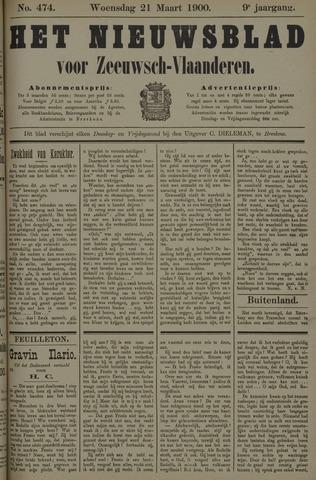 Nieuwsblad voor Zeeuwsch-Vlaanderen 1900-03-21