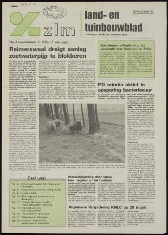 Zeeuwsch landbouwblad ... ZLM land- en tuinbouwblad 1991-03-15