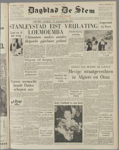 de Stem 1960-12-10