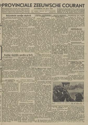 Provinciale Zeeuwse Courant 1943-07-24