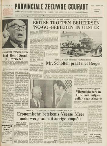 Provinciale Zeeuwse Courant 1972-08-01