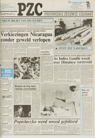 Provinciale Zeeuwse Courant 1984-11-05