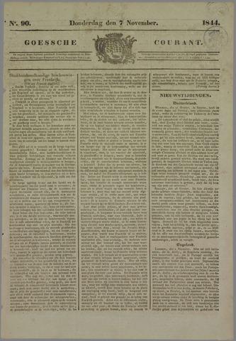 Goessche Courant 1844-11-07