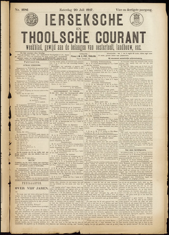 Ierseksche en Thoolsche Courant 1917-07-20