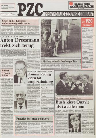 Provinciale Zeeuwse Courant 1988-08-17
