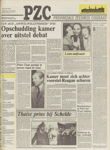 Provinciale Zeeuwse Courant 1981-11-20