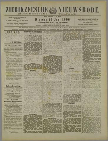 Zierikzeesche Nieuwsbode 1906-06-26