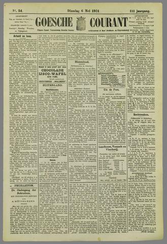 Goessche Courant 1924-05-06