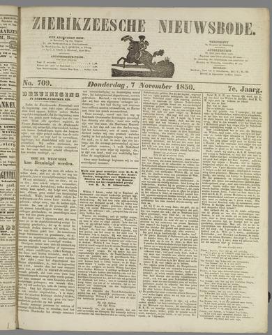 Zierikzeesche Nieuwsbode 1850-11-07