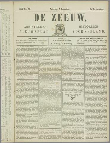 De Zeeuw. Christelijk-historisch nieuwsblad voor Zeeland 1888-12-08