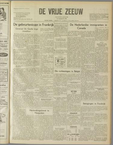de Vrije Zeeuw 1958-06-02