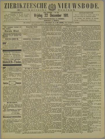 Zierikzeesche Nieuwsbode 1911-12-22
