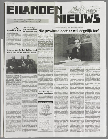 Eilanden-nieuws. Christelijk streekblad op gereformeerde grondslag 2007-02-27