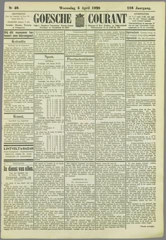 Goessche Courant 1929-04-03
