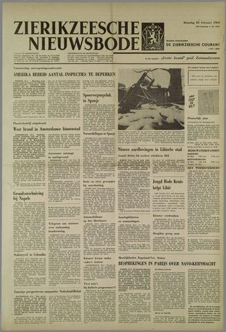 Zierikzeesche Nieuwsbode 1963-02-25