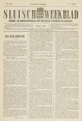 Sluisch Weekblad. Nieuws- en advertentieblad voor Westelijk Zeeuwsch-Vlaanderen 1873-12-05