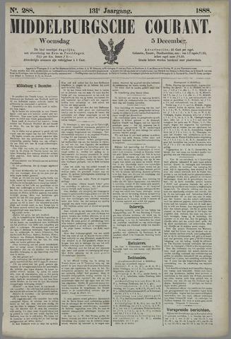 Middelburgsche Courant 1888-12-05