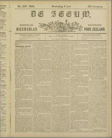 De Zeeuw. Christelijk-historisch nieuwsblad voor Zeeland 1906-06-06
