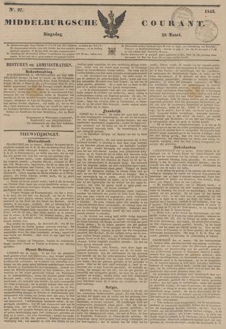 Middelburgsche Courant 1843-03-28