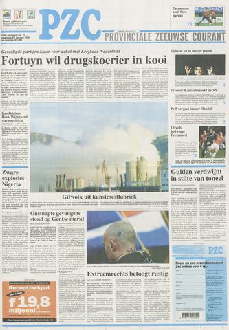 Provinciale Zeeuwse Courant 2002-01-28