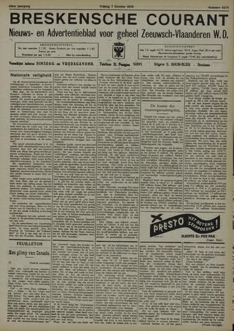 Breskensche Courant 1938-10-07