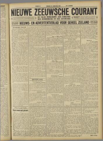 Nieuwe Zeeuwsche Courant 1926-08-10