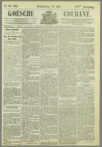Goessche Courant 1913-07-31