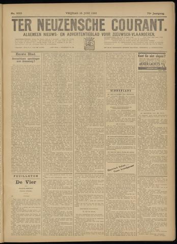 Ter Neuzensche Courant. Algemeen Nieuws- en Advertentieblad voor Zeeuwsch-Vlaanderen / Neuzensche Courant ... (idem) / (Algemeen) nieuws en advertentieblad voor Zeeuwsch-Vlaanderen 1933-06-16