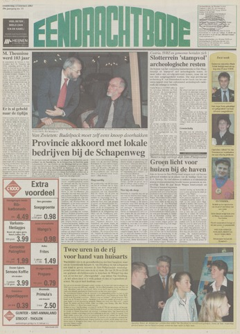 Eendrachtbode (1945-heden)/Mededeelingenblad voor het eiland Tholen (1944/45) 2003-02-13