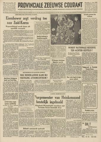 Provinciale Zeeuwse Courant 1953-06-08