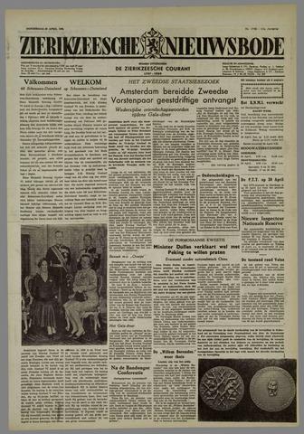 Zierikzeesche Nieuwsbode 1955-04-28