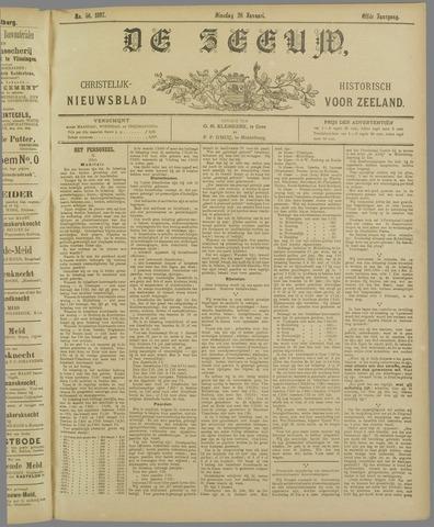 De Zeeuw. Christelijk-historisch nieuwsblad voor Zeeland 1897-01-26