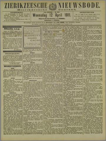 Zierikzeesche Nieuwsbode 1911-04-12