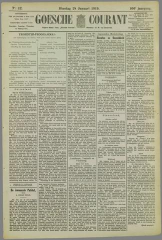 Goessche Courant 1919-01-28
