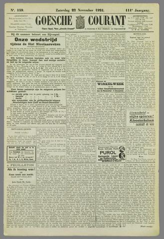 Goessche Courant 1924-11-22