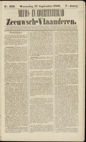 Ter Neuzensche Courant. Algemeen Nieuws- en Advertentieblad voor Zeeuwsch-Vlaanderen / Neuzensche Courant ... (idem) / (Algemeen) nieuws en advertentieblad voor Zeeuwsch-Vlaanderen 1860-09-12