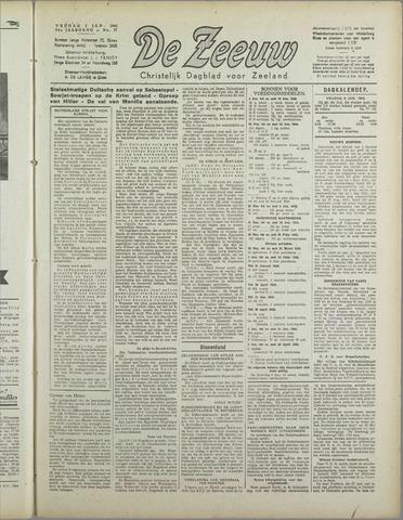 De Zeeuw. Christelijk-historisch nieuwsblad voor Zeeland 1942