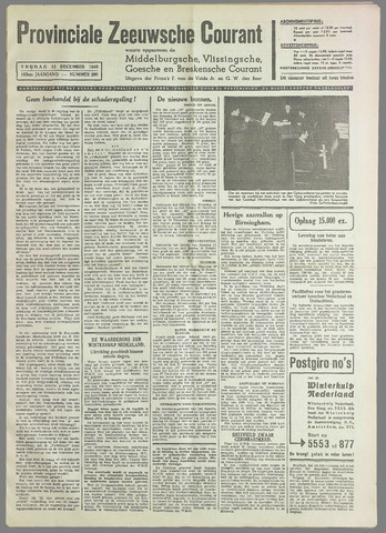 Provinciale Zeeuwse Courant 1940-12-13