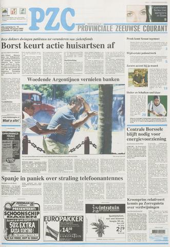 Provinciale Zeeuwse Courant 2002-01-16