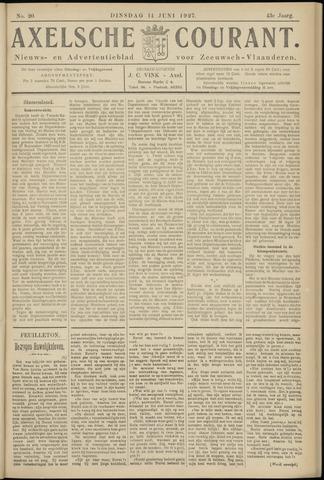 Axelsche Courant 1927-06-14