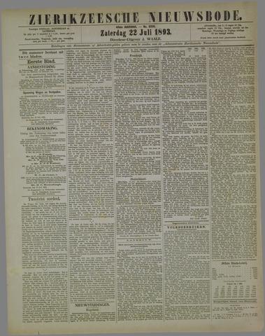 Zierikzeesche Nieuwsbode 1893-07-22