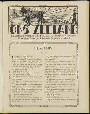 Ons Zeeland / Zeeuwsche editie 1928-12-22