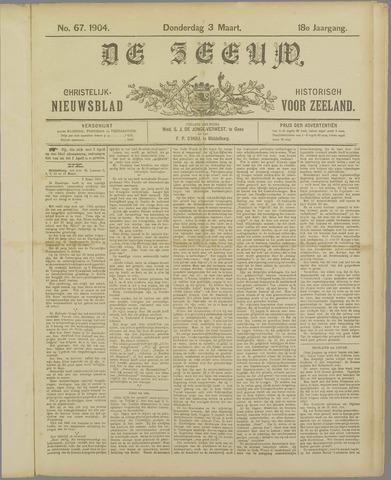De Zeeuw. Christelijk-historisch nieuwsblad voor Zeeland 1904-03-03