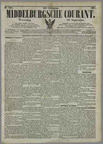 Middelburgsche Courant 1891-09-30