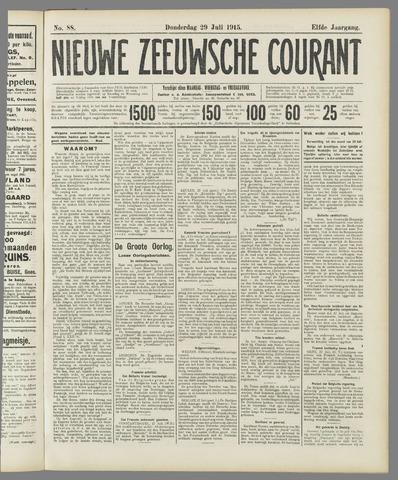 Nieuwe Zeeuwsche Courant 1915-07-29