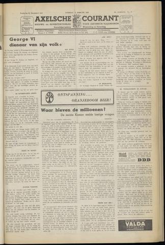 Axelsche Courant 1952-02-09